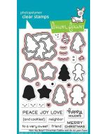 How You Bean? Christmas Cookie Add-On Lawn Cuts Dies - Lawn Fawn