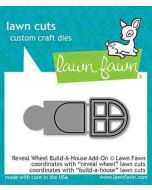 Build-A-House Add-On Lawn Cuts Dies - Reveal Wheel - Lawn Fawn