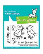 Stud Puffin Clear Stamps - Lawn Fawn