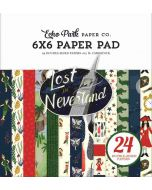 """Lost in Neverland 6"""" x 6"""" Paper Pad - Echo Park"""