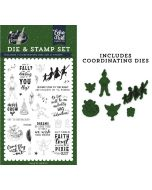 Never Grow Up Die & Stamp Set - Lost in Neverland - Echo Park