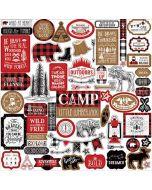 Little Lumberjack Element Stickers - Echo Park
