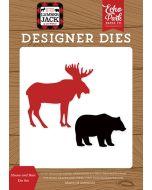 Moose And Bear Die Set - Little Lumberjack - Echo Park