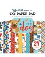 "I Love My Dog 6"" x 6"" Paper Pad - Echo Park"
