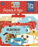 I Love My Dog Frames & Tags - Echo Park