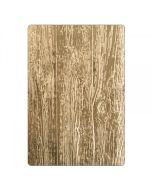 Tim Holtz 3D embossing folder lumber