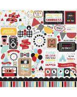 Magical Adventure 2 Element Stickers - Echo Park