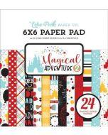 "Magical Adventure 2 6"" x 6"" Paper Pad - Echo Park"