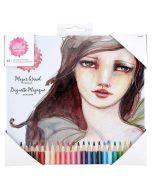 Magic Wand Colored Pencils - ArtEssentials - Jane Davenport - Spellbinders