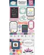 "6""x 13"" Chipboard Phrase Stickers"
