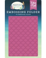 Mermaid Scales Embossing Folder