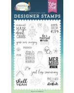 Be A Mermaid Stamp Set