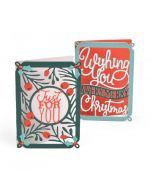 Sizzix Mini Christmas Card Die Set
