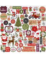 My Favorite Christmas Element Stickers - Echo Park