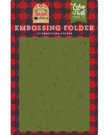 Christmas Snowfall Embossing Folder - My Favorite Christmas - Echo Park
