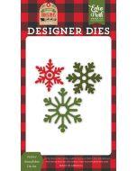 Festive Snowflakes Die Set - My Favorite Christmas - Echo Park