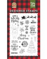 Be Merry Stamp Set - My Favorite Christmas - Echo Park