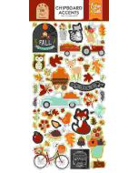 "My Favorite Fall 6"" x 13"" Chipboard Accent Stickers - Echo Park"