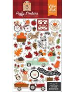 My Favorite Fall Puffy Stickers - Echo Park