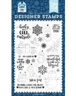 You Warm My Heart Stamp Set - My Favorite Winter - Echo Park