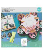 We R Memory Keepers Mini Bloom Storage Pink