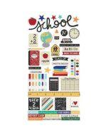 Simple Stories Old School Sticker embellishments