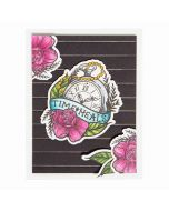 Spellbinders One Day at a time die and stamp set