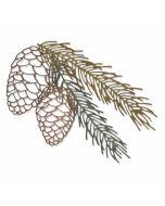 Pine Branch Thinlits Dies - Tim Holtz - Sizzix