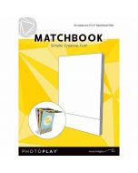 """Maker's Series Matchbook (4"""" x 6"""", White) - PhotoPlay"""