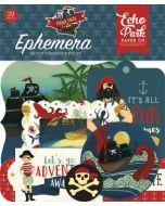 Echo Park Pirate Tales Ephemera