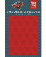Echo Park Buccaneer Embossing Folder