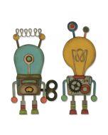 Tim Holtz Robotic Sizzix Die