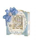 Grand Holiday Cabinet Etched Dies - 3D Holiday Vignettes - Becca Feeken - Spellbinders