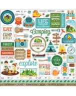 Summer Adventure Element Stickers - Lori Whitlock - Echo Park