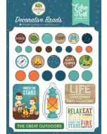 Summer Adventure Decorative Brads - Lori Whitlock - Echo Park
