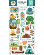 "Summer Adventure 6"" x 13"" Chipboard Accent Stickers - Lori Whitlock - Echo Park"