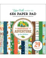 "Summer Adventure 6""x 6"" Paper Pad - Lori Whitlock - Echo Park"