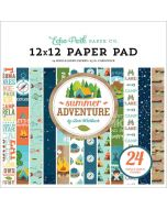 "Summer Adventure 12"" x 12"" Paper Pad - Lori Whitlock - Echo Park"