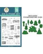 Escape to Nature Die & Stamp Set - Summer Adventure - Lori Whitlock - Echo Park