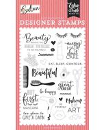 Messy Hair, Don't Care Stamp Set - Salon - Echo Park