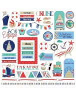 Set Sail Element Stickers - PhotoPlay