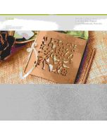 Cricut Maker Silver Leather Material