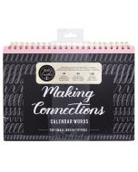 Kelly Creates Making Connections Small Brush Calendar