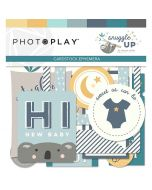 Snuggle Up Boy Ephemera Die Cuts