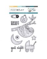 Snuggle Up Boy Stamps