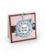 Jen Long Snowflake Wreath Stamp & Die Set Project