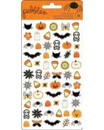 Pebbles Spooky Boo Puffy Stickers
