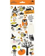 Spooky Boo Stickers Halloween