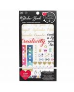Kelly Creates Gold Foil Sticker Book