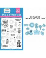 It's Summer Time Die & Stamp Set - I Love Summer - Echo Park